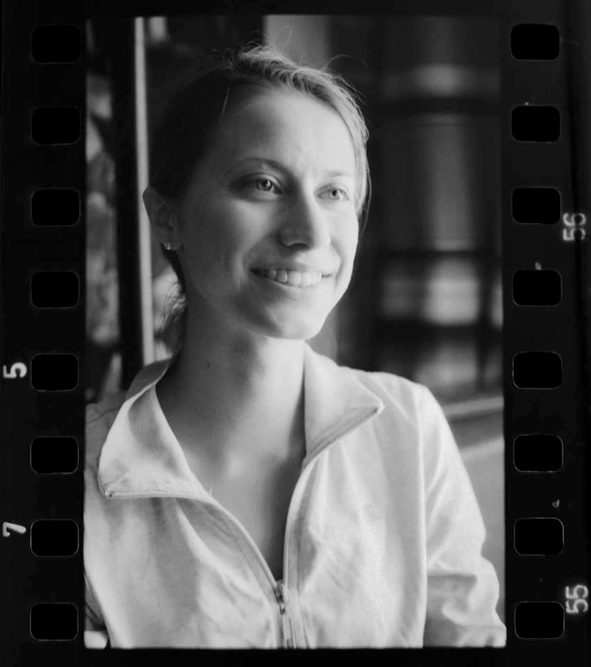 Scenic designer Catherine Cornell; photo by Ian Johnston.