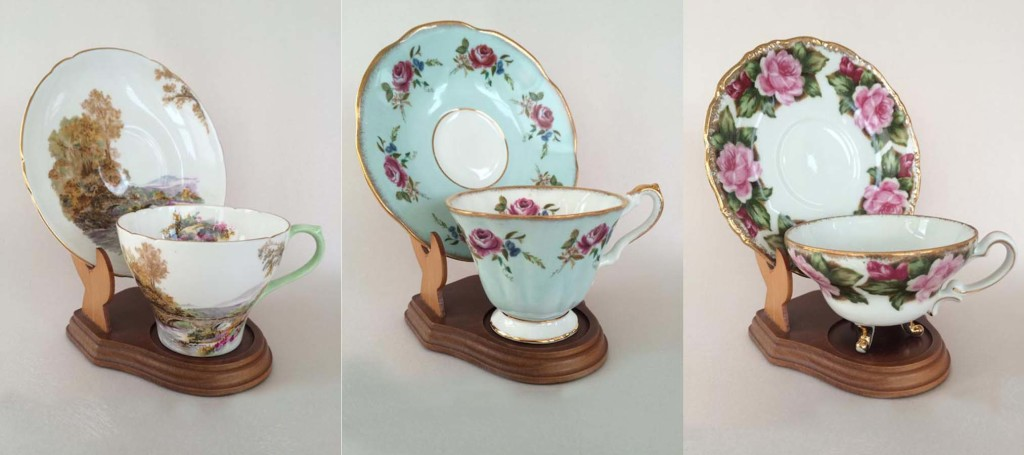 Vintage Tea Cups for all your fancy tea parties.