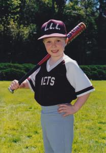 Ian Stewart in Camas Little League