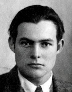 Hemingway in 1923