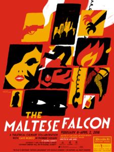 The Maltese Falcon, by Dashiell Hammett