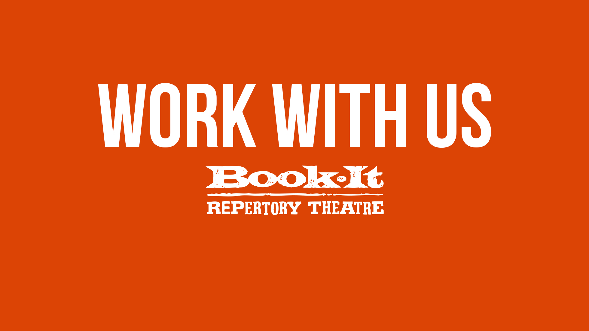 Work With Us at Book-It