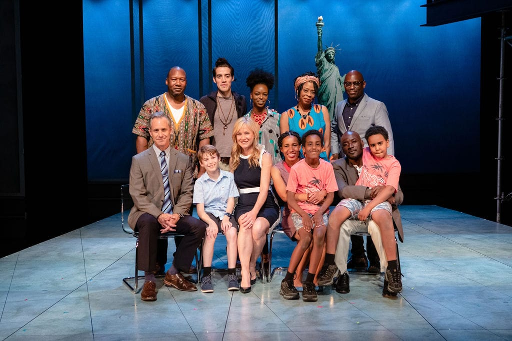 Cast of Behold the Dreamers; photo by John Ulman